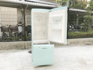 ウィルミニターコイズブルー冷蔵庫詳細画像4