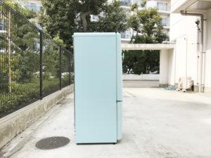 ウィルミニターコイズブルー冷蔵庫詳細画像3