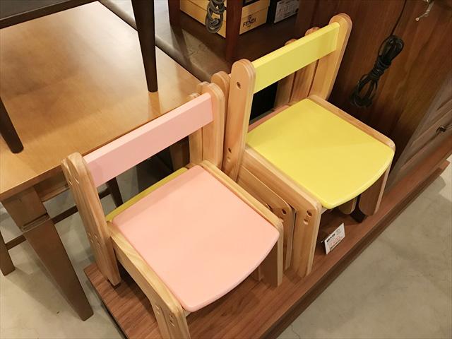 パイン材子供椅子詳細画像1