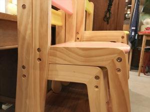 パイン材子供椅子詳細画像6