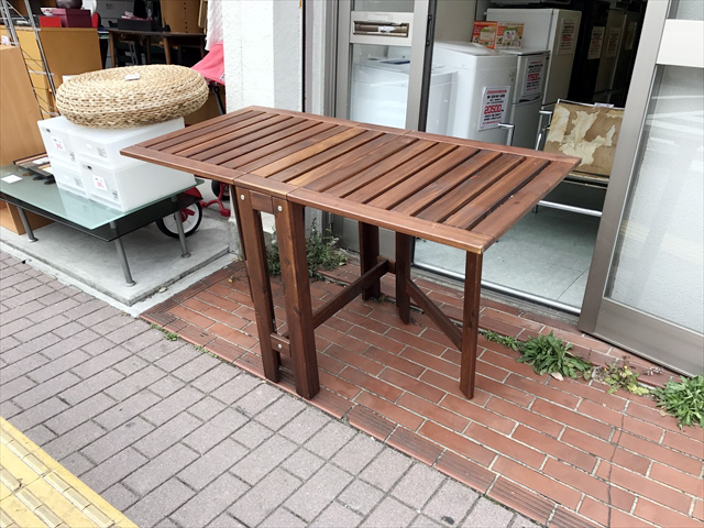ゲートレッグテーブル