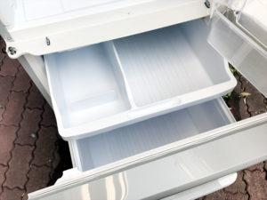 シャープの3ドア冷蔵庫詳細画像8