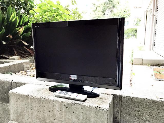 東芝の22インチテレビ