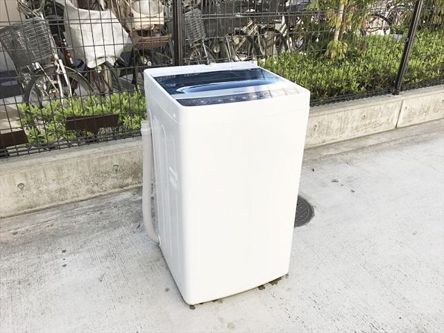 ハイアールの5.5KG容量洗濯機