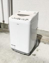 シャープの洗濯乾燥機2013年製