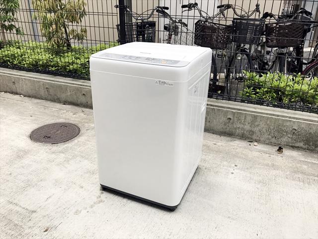 パナソニックの2017年製洗濯機