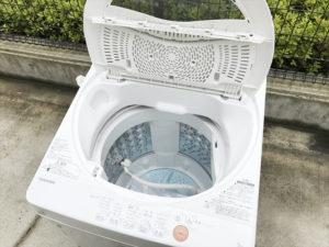 洗濯機 蓋オープン時