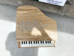 ミニピアノ 天板
