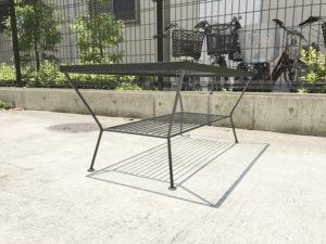 エディローテーブル 側面斜め