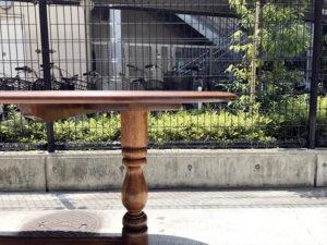 ダイニングテーブル 天板脚部