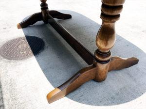 ダイニングテーブル 脚部全体