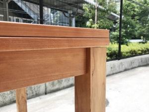 VIVOダイニングテーブル エクステンション重なり部