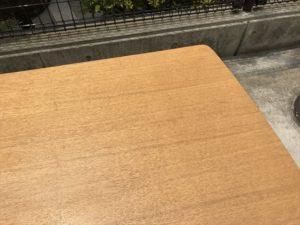 ダイニングテーブル 天板角2