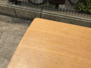 ダイニングテーブル 天板角3