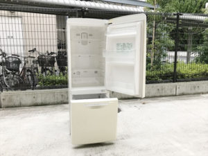 ウィル冷蔵庫 開口状態