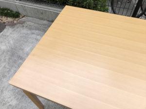 トリップテーブル 天板詳細