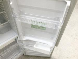 2ドア冷蔵庫 ドリンクストッカー