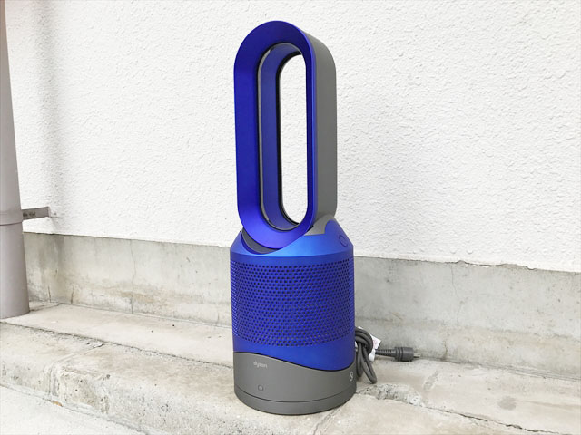 ダイソン空気清浄機能付きファンヒーター詳細画像1