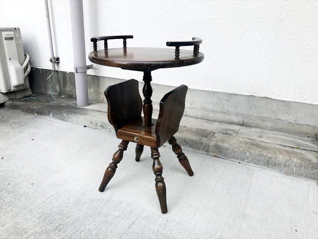 飛騨産業家具サイドテーブル
