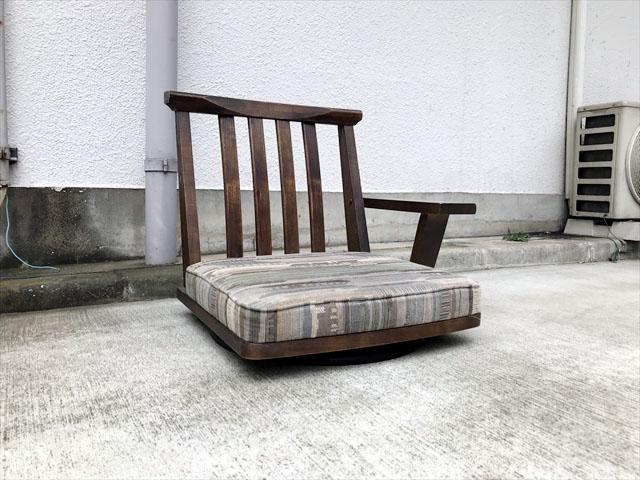 カリモク座椅子