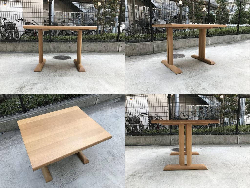 円空ダイニングテーブル詳細画像2