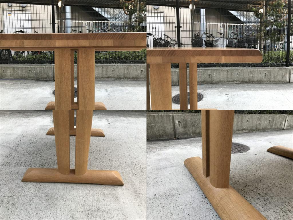 円空ダイニングテーブル詳細画像4