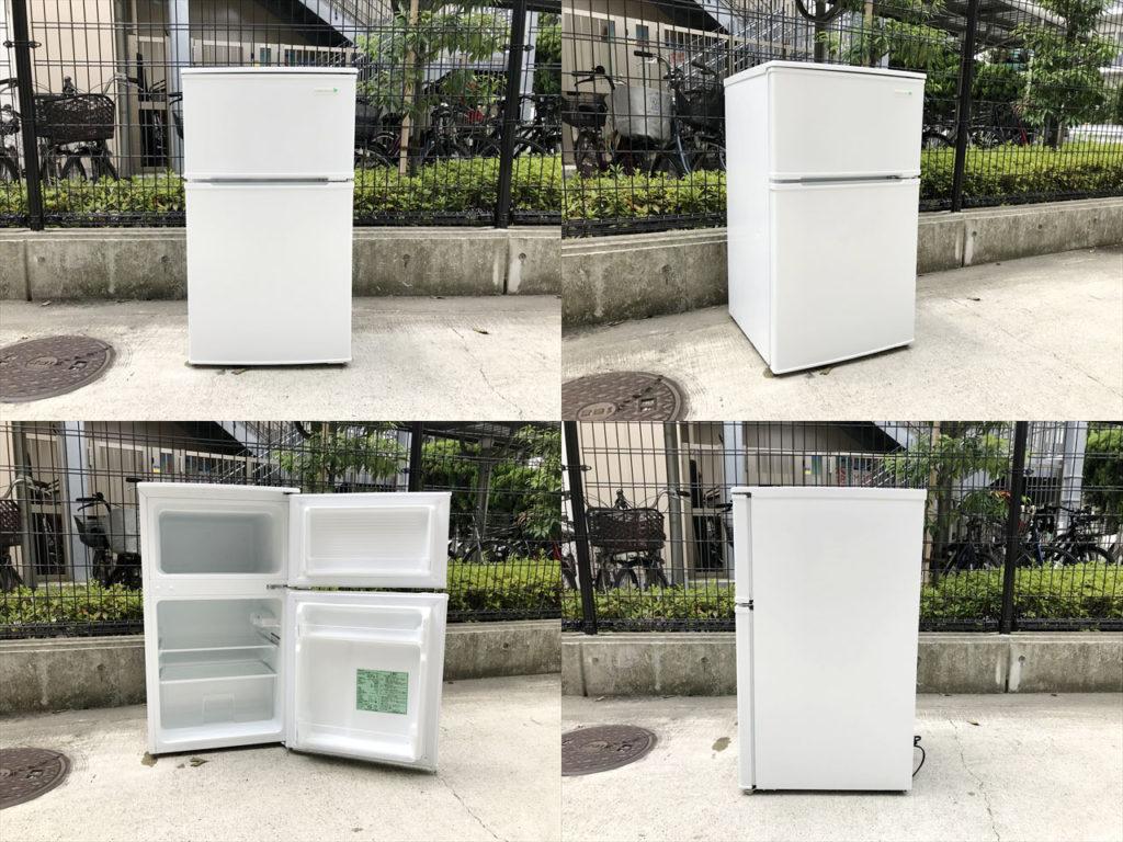 2ドア冷蔵庫詳細画像1