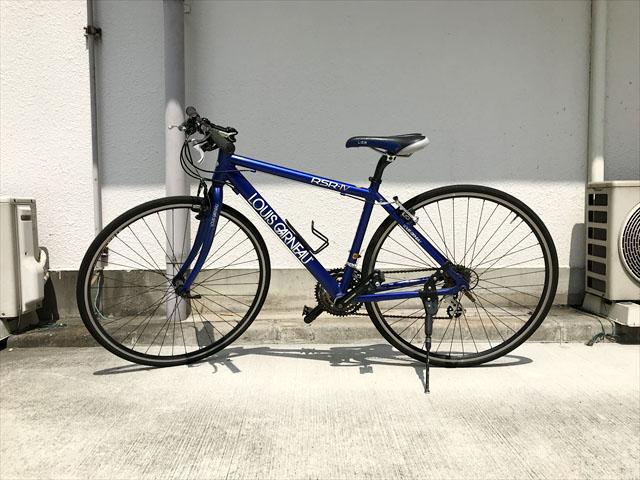 ルイガノフラットロードバイク