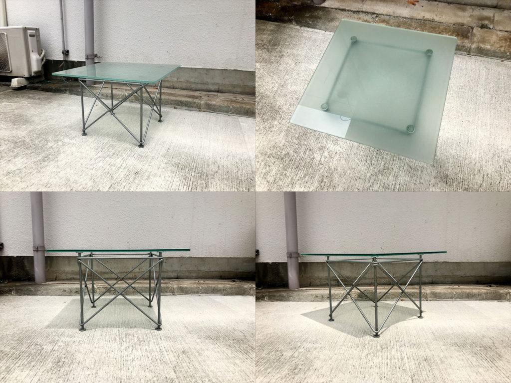 ガラスサイドテーブル詳細画像1