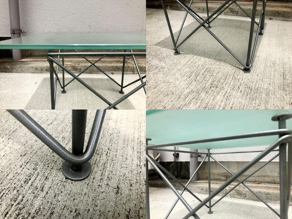 ガラスサイドテーブル詳細画像3