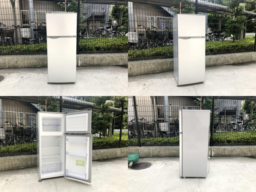 115リットル2ドア冷蔵庫詳細画像1