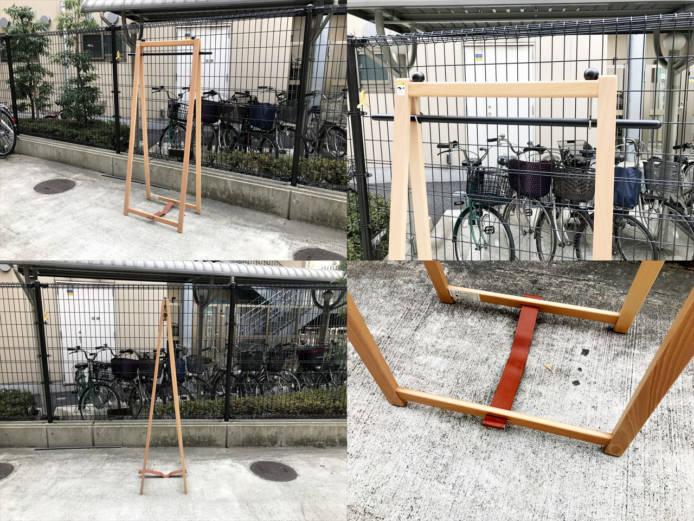 秋田木工ハンガーラック詳細画像3