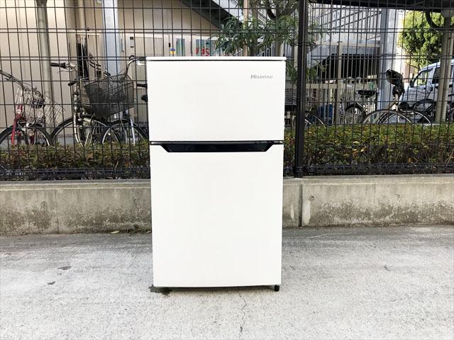 ハイセンス2ドア冷蔵庫