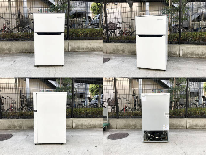 ハイセンス2ドア冷蔵庫詳細画像1