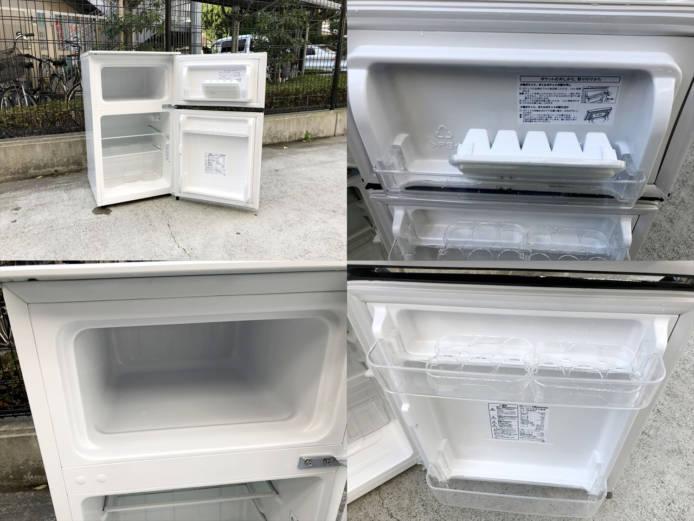 ハイセンス2ドア冷蔵庫詳細画像3