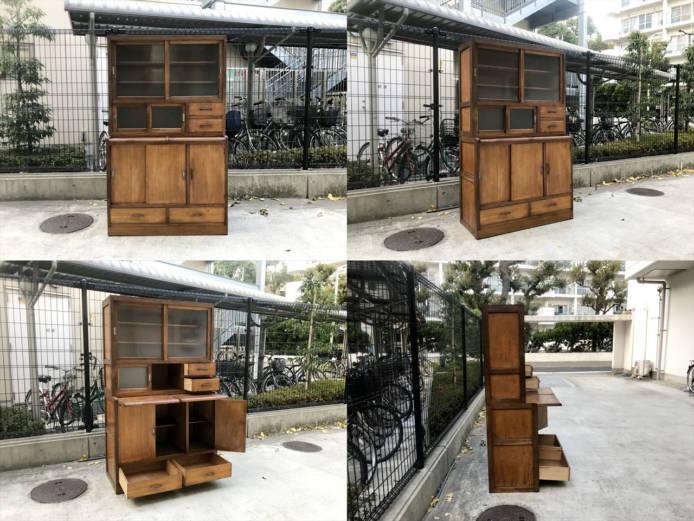 古家具キッチンキャビネット詳細画像1