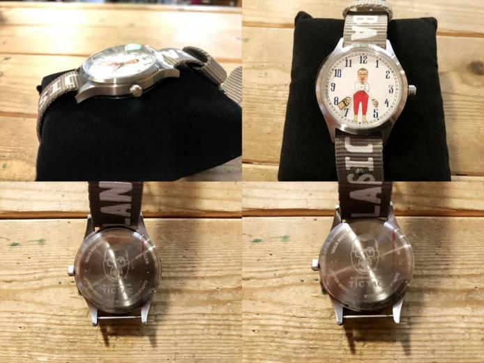 野生爆弾くっきーキャラウォッチバランスおじさん腕時計詳細画像1