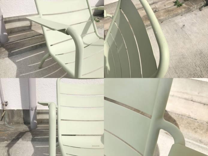フェルモブルクセンブールローアームチェア詳細画像2