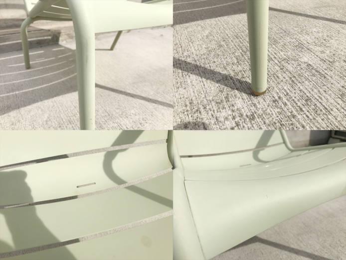 フェルモブルクセンブールローアームチェア詳細画像3