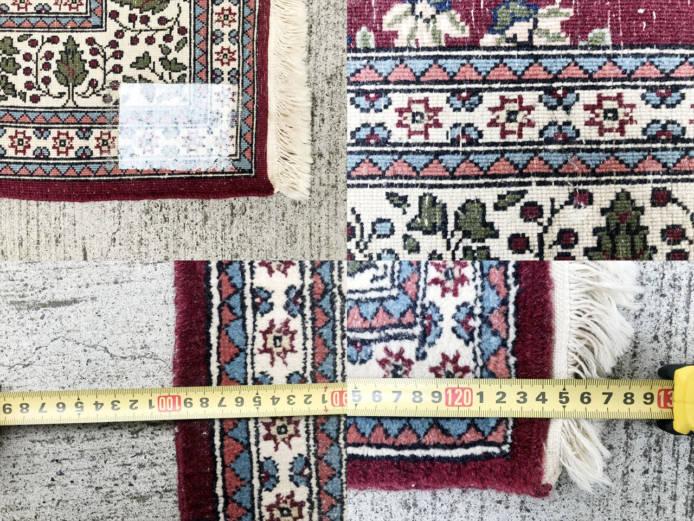 トルコヘレケウール絨毯詳細画像1