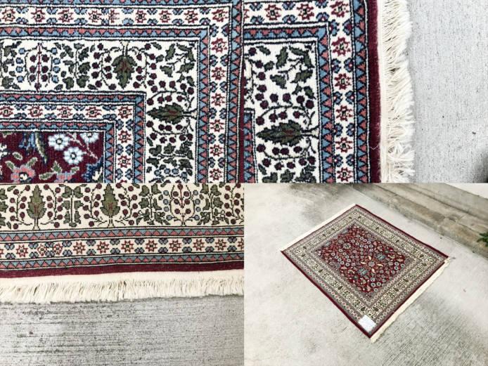 トルコヘレケウール絨毯詳細画像2