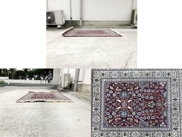 トルコヘレケウール絨毯詳細画像4