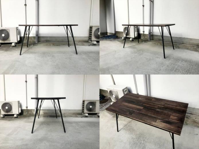 ビメイクスシンバスダイニングテーブル詳細画像4