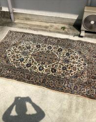 ペルシャ絨毯カシャーンウールラグ