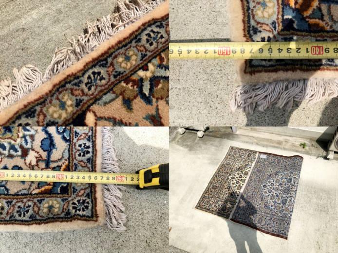 ペルシャ絨毯カシャーンウールラグ詳細画像2