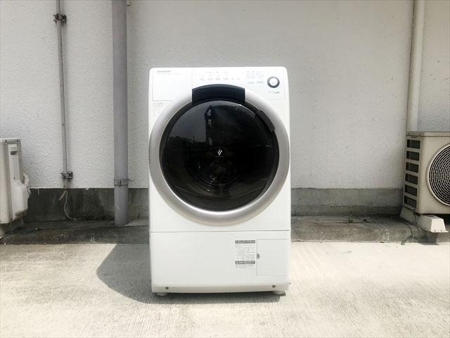 シャープドラム式洗濯機ES-S70