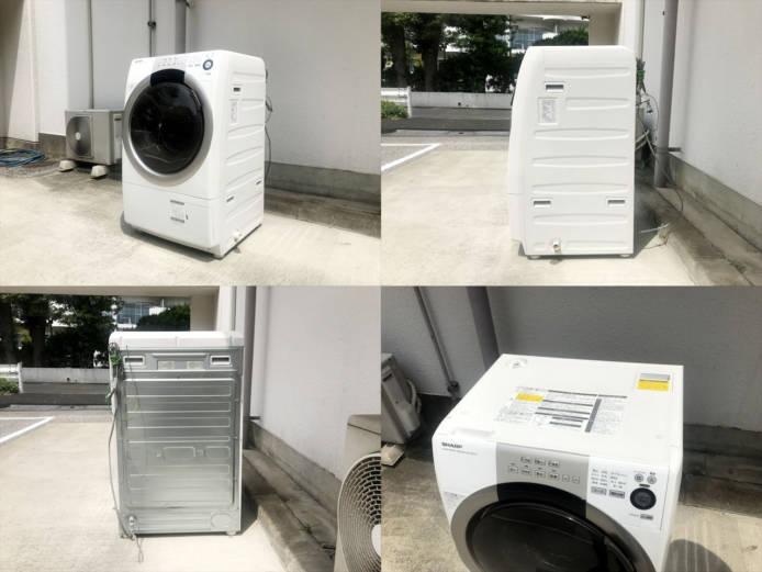 シャープドラム式洗濯機ES-S70詳細画像6
