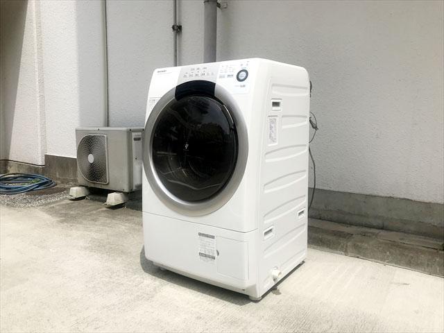 ドラム式洗濯機ES-S70