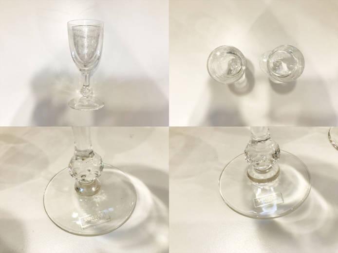 サンルイクレオクラレットワイングラス詳細画像5
