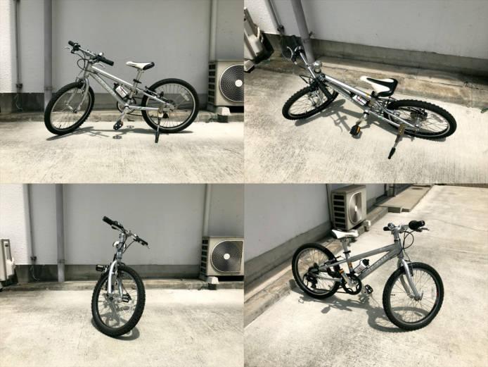 ルイガノj206キッズ自転車詳細画像1
